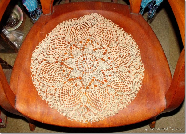 01e Knitted doily on rocker Yarnell AZ (1024x737)