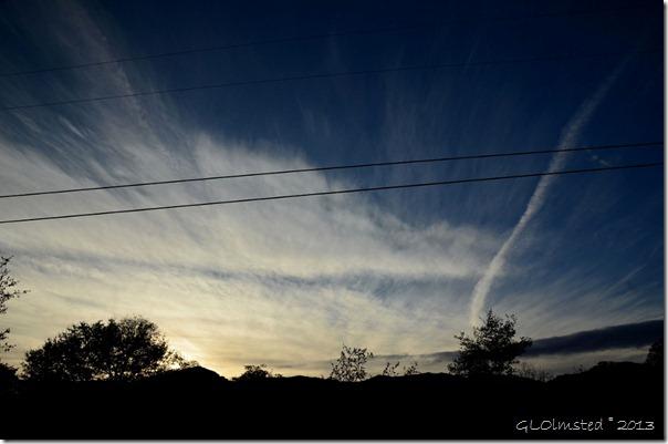 Presunset sky