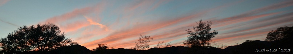 Sunset Yarnell AZ