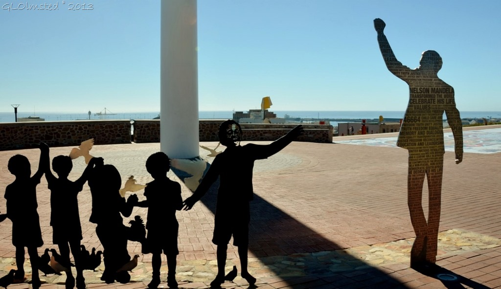 "Nelson Mandela ""Voting Line"" Rt67 Art Port Elizabeth South Africa"