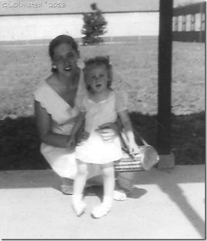 June & Gail Olmsted June 1956