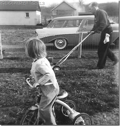 Gail & Ray April 1956 Spring Rd Hinsdale Illinois