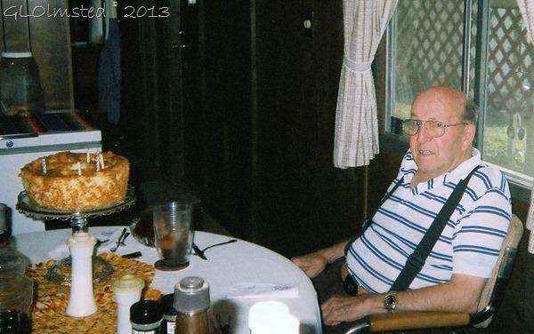 Dad at my birthday in Texas