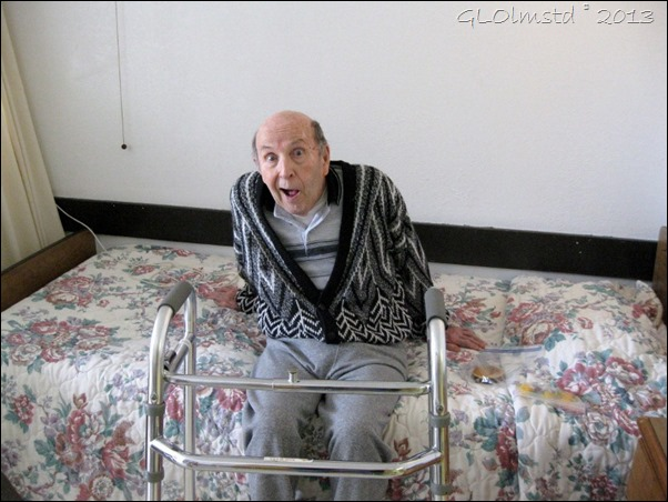 Dad at Atrium Nursing home San Benito Texas