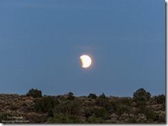 Lunar eclipse Hovenweep National Monument Utah